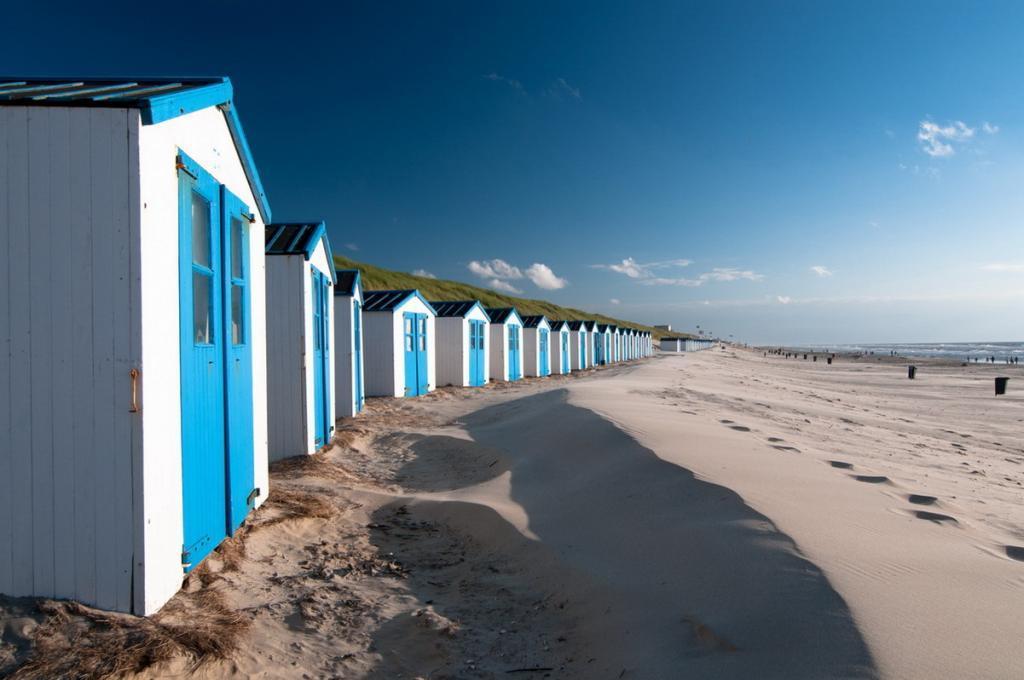 Strandhäuser von Texel
