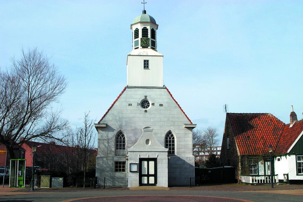 Historische Kirche in De Koog