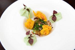 Restaurants auf Texel: Gaumenschmauß mit lokalen Produkten (Foto: Liselotte Schoo)