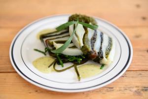 Exklusive Gerichte: Essen und Trinken auf Texel (Foto: Liselotte Schoo)